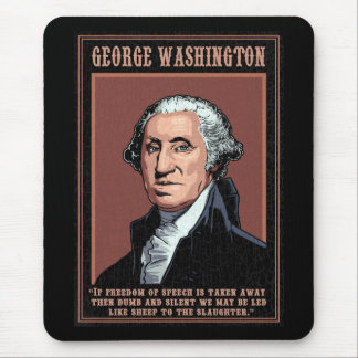 Washington -Free Speech Mouse Pad