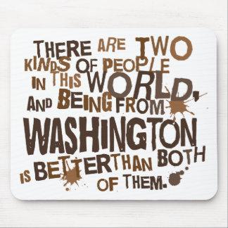Washington (Funny) Gift Mousepad