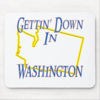 Washington - Getting abajo Alfombrillas De Ratón