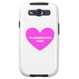 Washington Girl Galaxy SIII Cases