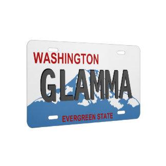 Washington Glamma license plate