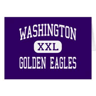 Washington - Golden Eagles - High - Tuskegee Card