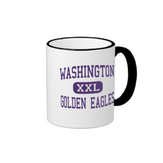 Washington - Golden Eagles - High - Tuskegee Ringer Coffee Mug