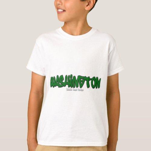 Washington Graffiti T_Shirt