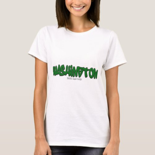 Washington Graffiti T_Shirt