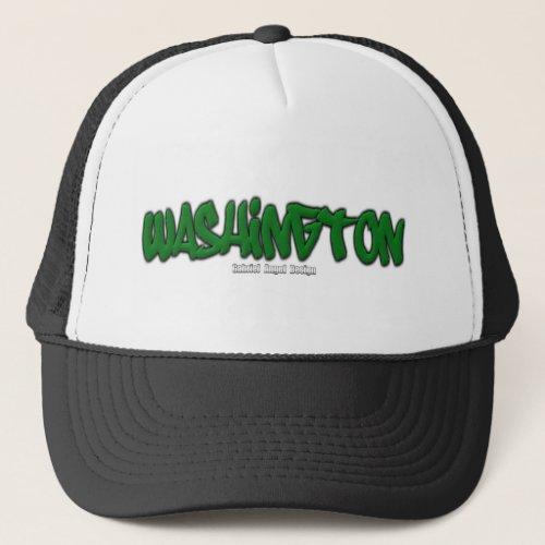 Washington Graffiti Trucker Hat