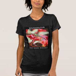 Washington Green Darner Dragonfly Shirts
