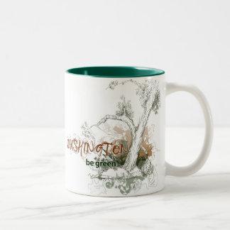 Washington Green Tree Mug