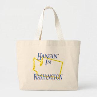 Washington - Hangin' Large Tote Bag