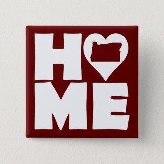 Washington Home Heart State Button Badge Pin