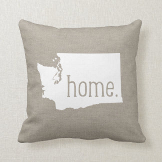 Washington Home State Throw Pillow