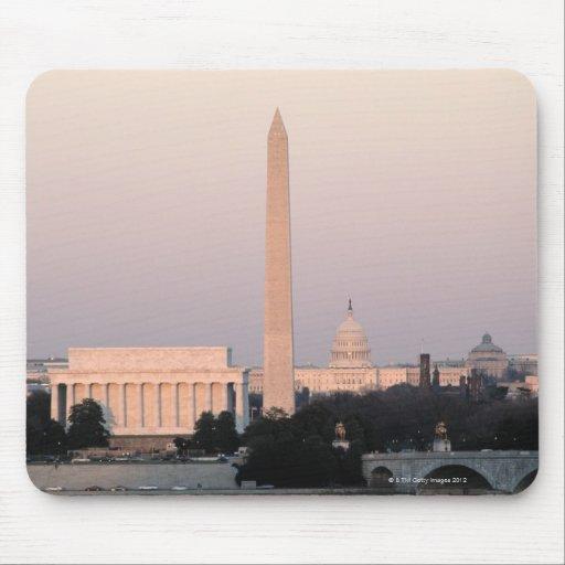 Washington, horizonte de DC Alfombrillas De Ratón
