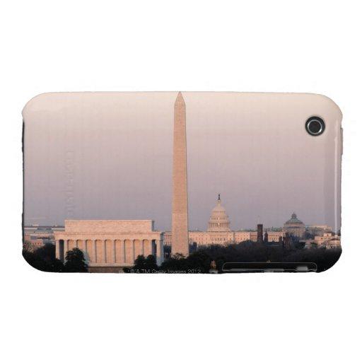 Washington, horizonte de DC iPhone 3 Case-Mate Coberturas