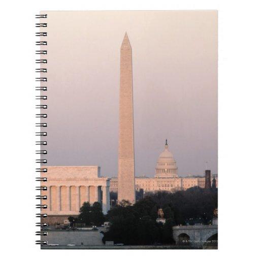 Washington, horizonte de DC Notebook