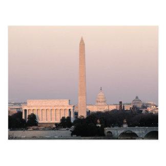 Washington, horizonte de DC Tarjetas Postales