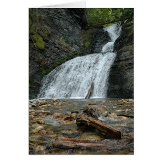 Washington/Idaho Waterfall #2 Card