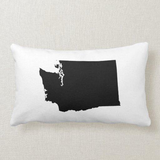 Washington In Black And White Throw Pillow Zazzle