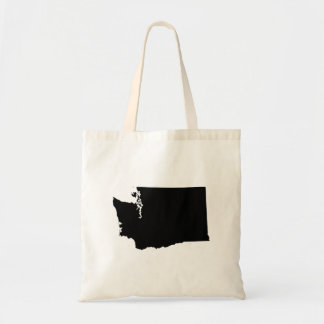 Washington in Black and White Tote Bag