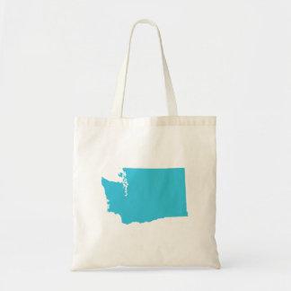 Washington in Blue Tote Bag