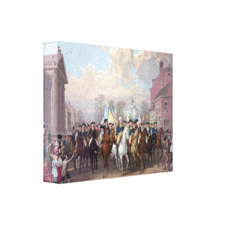 """""""Washington in New York"""" wrapped canvas print"""