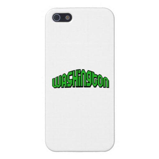 Washington iPhone 5 Fundas