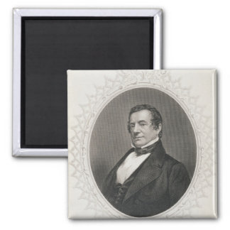 Washington Irving 2 Inch Square Magnet