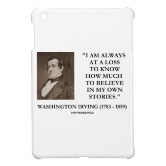 Washington Irving Always At A Loss Believe Stories iPad Mini Cases
