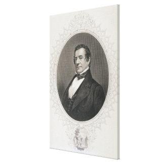 Washington Irving Lienzo Envuelto Para Galerías