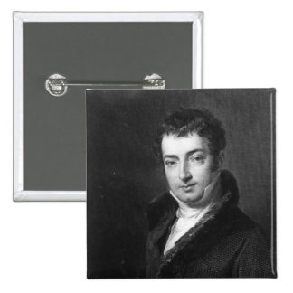 Washington Irving Pinback Button