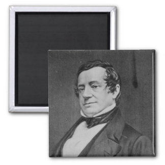 Washington Irving Portrait 2 Inch Square Magnet