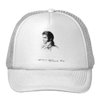 Washington Irving Portrait Mesh Hat