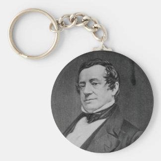 Washington Irving Portrait Key Chains