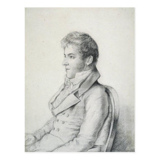 Washington Irving Portrait Postcard