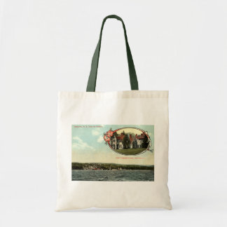 Washington Irving, Tarrytown, NY Vintage c1915 Budget Tote Bag