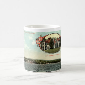 Washington Irving, Tarrytown, NY Vintage c1915 Coffee Mug