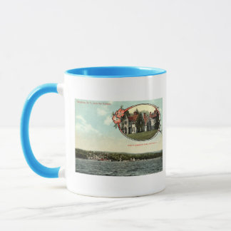 Washington Irving, Tarrytown, NY Vintage c1915 Mug