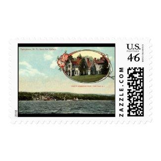 Washington Irving, Tarrytown, NY Vintage c1915 stamp