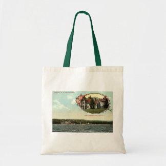 Washington Irving, Tarrytown, NY Vintage c1915 Tote Bag
