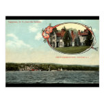 Washington Irving, Tarrytown, vintage c1915 de NY Tarjetas Postales