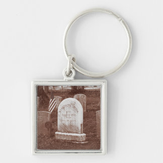 Washington Irving's tombstone Keychain