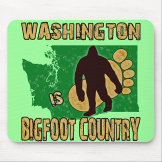 Washington Is Bigfoot Country Mouse Pad