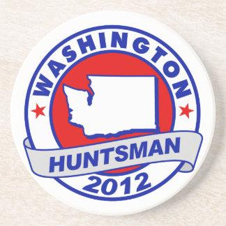Washington Jon Huntsman Drink Coaster