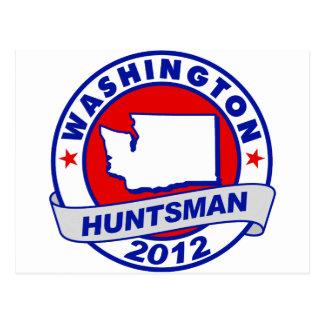 Washington Jon Huntsman Postcard