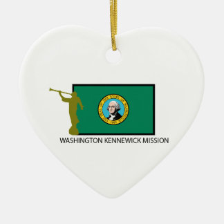 WASHINGTON KENNEWICK MISSION LDS CTR CERAMIC ORNAMENT
