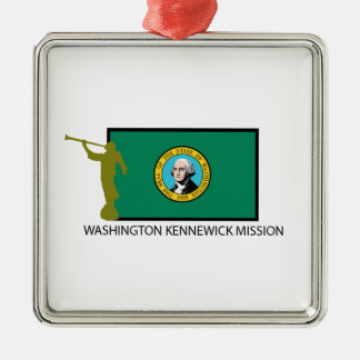 WASHINGTON KENNEWICK MISSION LDS CTR METAL ORNAMENT