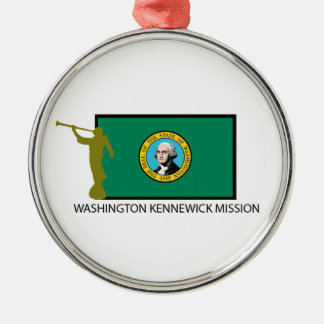 WASHINGTON KENNEWICK MISSION LDS CTR METAL ORNAMENT