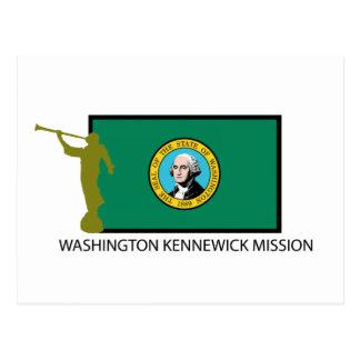 WASHINGTON KENNEWICK MISSION LDS CTR POSTCARD