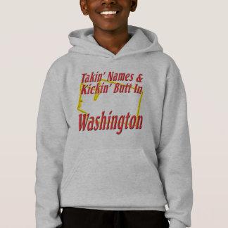 Washington - Kickin' Butt Hoodie
