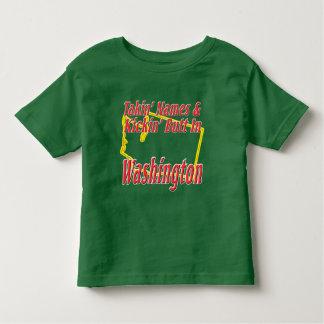 Washington - Kickin' Butt Toddler T-shirt