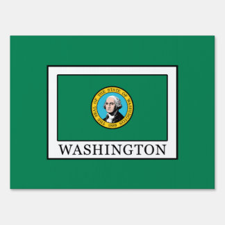 Washington Lawn Sign